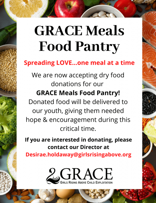 GRACE Food Donations flyer-2