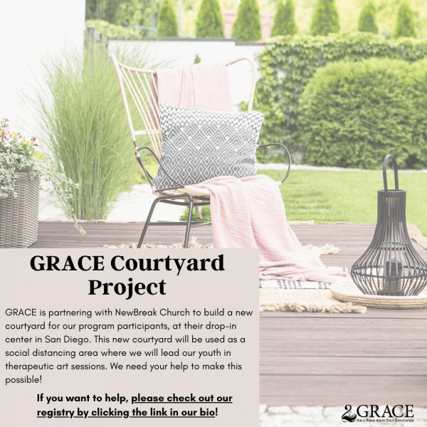 Grace Courtyard Project Instagram Post